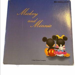 Vintage Mickey and Minnie Disney Wine Glasses